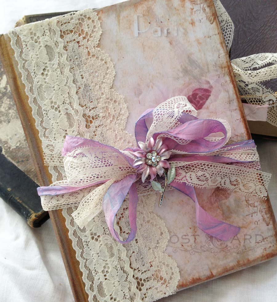 Wedding guest book with love from paris custom 32 - Boutique scrapbooking paris ...